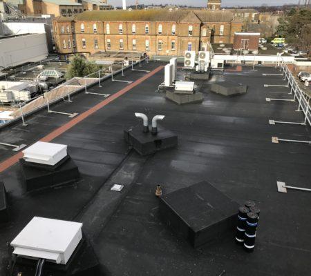 Flat Roof Croydon Hospital