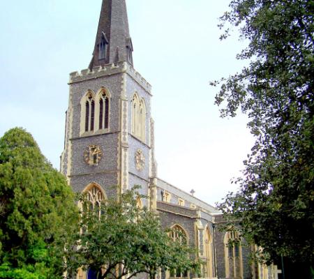 Grey Ecclesiastical Building