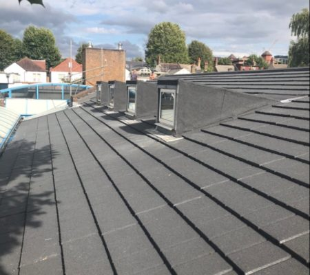Site visit of School roof