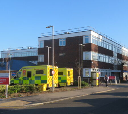 Site Visit Croydon Hospital