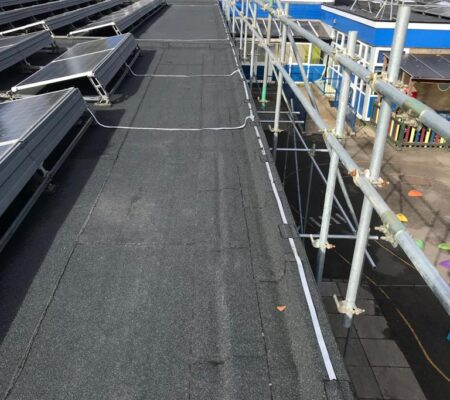 Educational Flat Roofing Project in South London