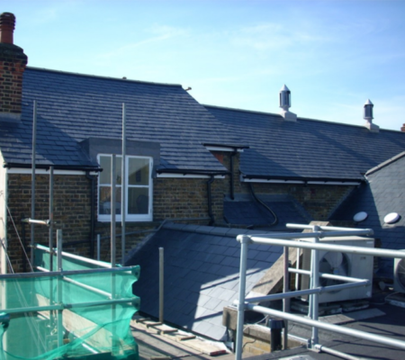 Pitched Roofing Work on Magistrates Court