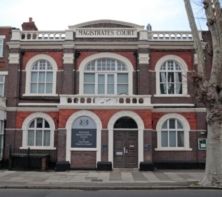 Pitched Roofing Project on Magistrates Court in London
