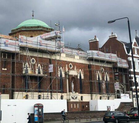 Church Roof Repair in London