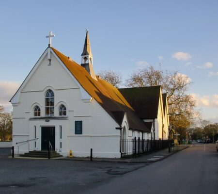 Church Pitched Tile Roofing Project in Richmond
