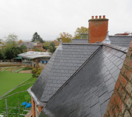 Pitched Roofing Wet School Roof