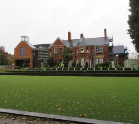 School with Slate Pitched Roof