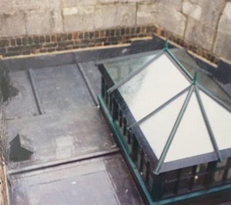 Windsor Castle Flat Roofing Metal
